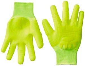 Mad Grip F50 Thunderdome Impact Gloves, X-Large, High Vis