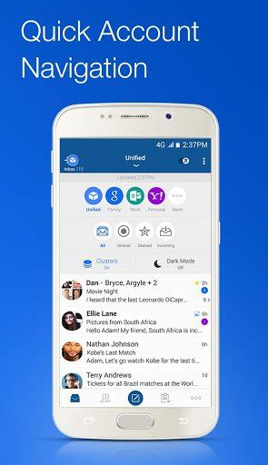 Blue Mail - Best Email Client For Android with Multi