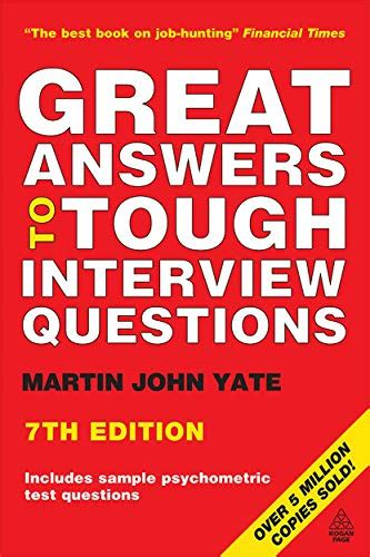 9780749451967: Great Answers to Tough Interview Questions