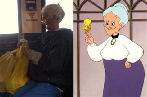 16 people who are hilarious look alikes of cartoon