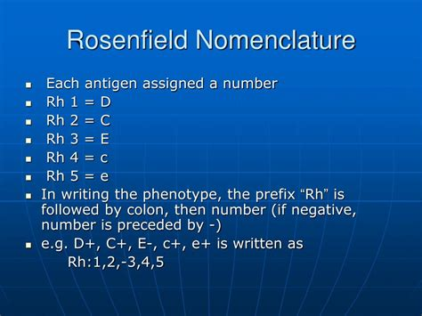 PPT - The Rhesus (Rh) Blood Group system PowerPoint