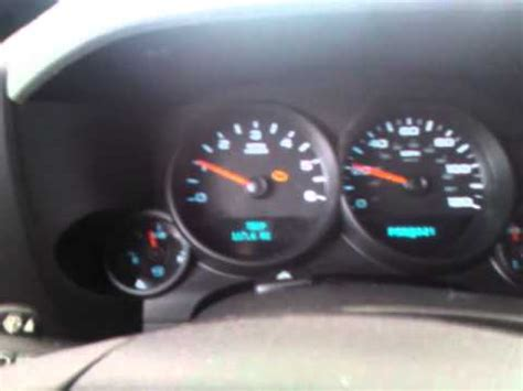 2007 Chevrolet Tahoe electrical problems caused by air