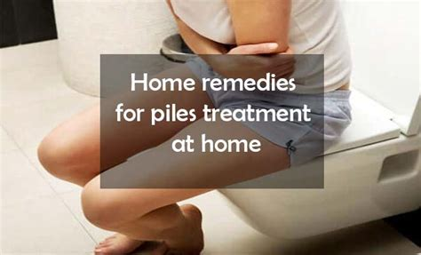 Piles treatment at home   Home remedies for hemorrhoids cure