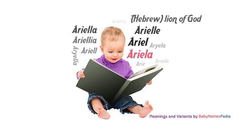 Ariela - Meaning of Ariela, What does Ariela mean? girl name
