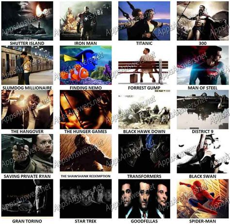 Ultimate Movie Quiz Answers   Apps Answers