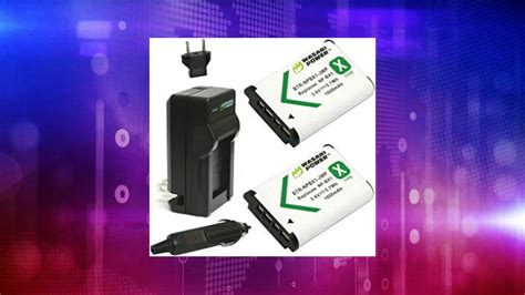 Wasabi Power NP-BX1 Battery (2-Pack) and Charger for Sony