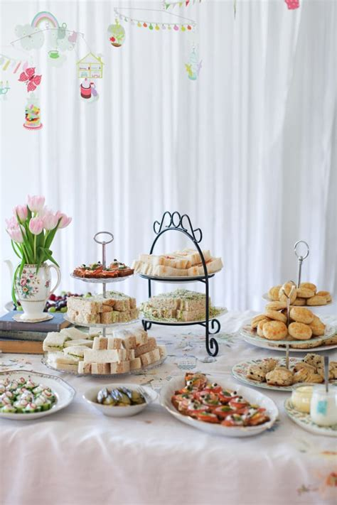 An Afternoon Tea Baby Shower - Simple Bites