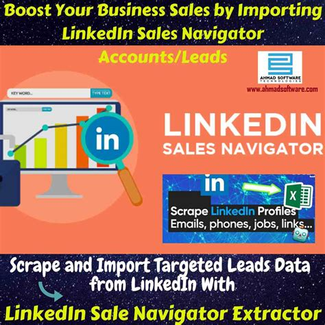 Import LinkedIn Sales Navigator Accounts/Leads with
