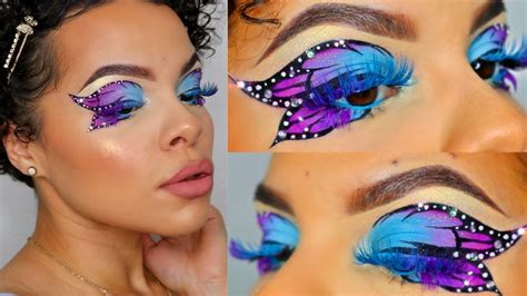 Dreamy Butterfly Eyes Makeup Tutorial 🦋 - YouTube