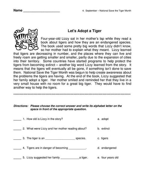short unseen passage for class 6 with questions and