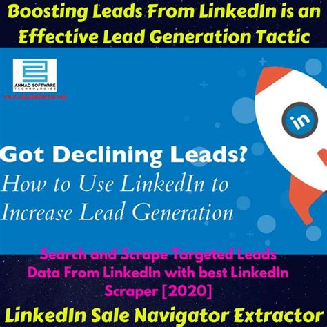 Scrape and Import Leads from LinkedIn Sales Navigator into