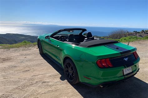 The Ford Mustang EcoBoost Convertible Is a Strange Mustang