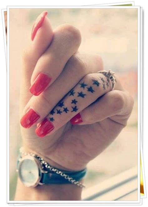 Cute Finger Tattoo Ideas That Will Totally Inspire You To