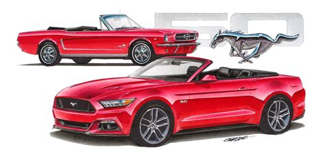 Jim Gerdom Releases Mustang 50th Anniversary Limited